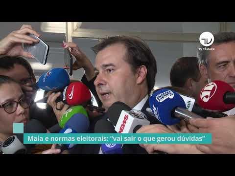 Para Maia, projeto que viabiliza fundo eleitoral não vai blindar partidos - 18/09/19