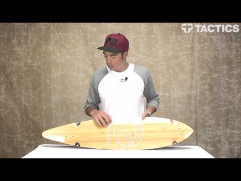 Gold Coast Classic Bamboo Floater & Agave 44 Inch  Longboard Deck Review – Tactics.com
