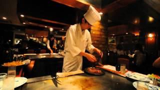 เนื้อโกเบ ณ ร้าน Steak Land, Kobe