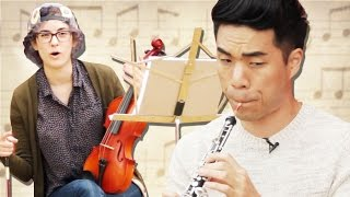 People Play Their Childhood Instruments