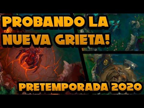 PROBAMOS LA NUEVA GRIETA EN DIRECTO! - PRETEMPORADA 2020 - AKALI ARMY