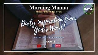 Morning Manna -3/24/21