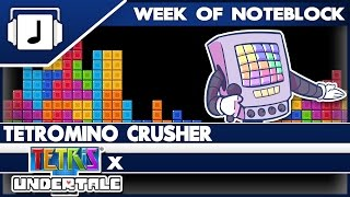 """""""Tetromino Crusher"""" Undertale/Tetris Mashup"""