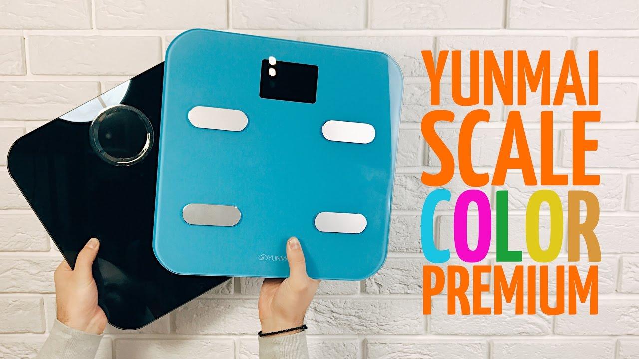 Смарт-весы YUNMAI Premium Smart Scale (M1301-BK) Black video preview