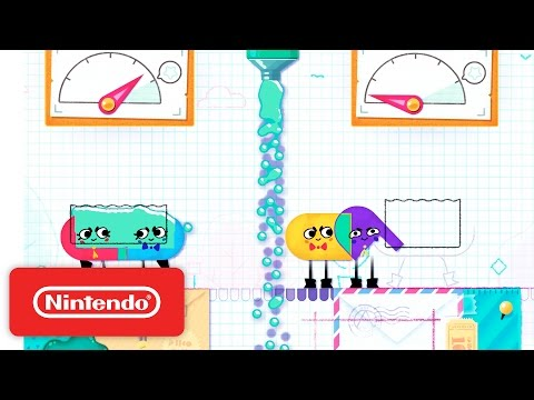 Snipperclips - Cut it out, together! Launch Trailer thumbnail