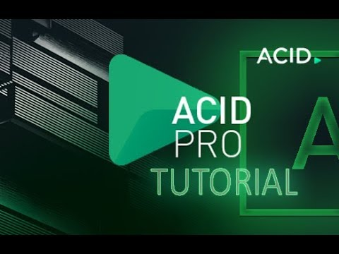 ACID Pro 8 - Tutorial for Beginners [COMPLETE] - 16 MINS! - YouTube