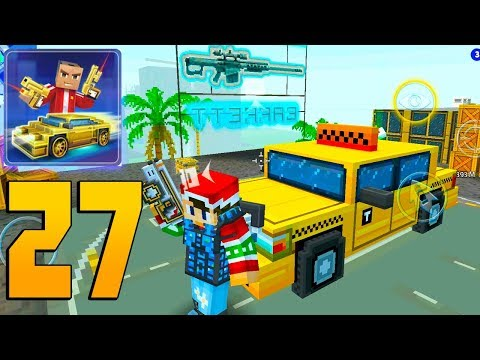 Block City Wars - Gameplay Walkthrough Part 27 - Battle Royale