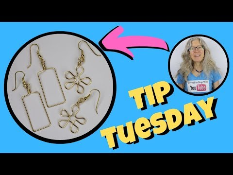 Same Size Earrings: Tip Tuesday Jewelry Making Hack