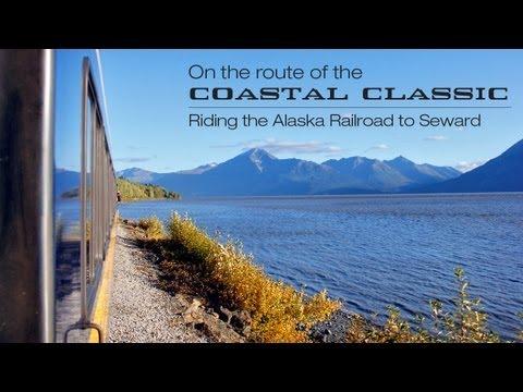 Riding the Alaska Railroad to Seward - on the route of the Coastal Classic