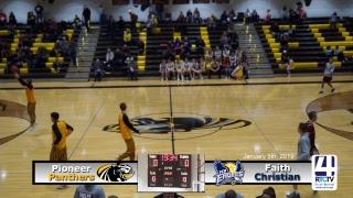 Pioneer Varsity Girls Basketball vs Faith Christian