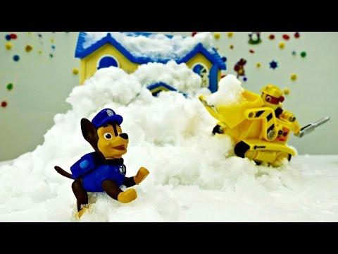 Video per bambini - Paw Patrol- La casa  è coperta di neve
