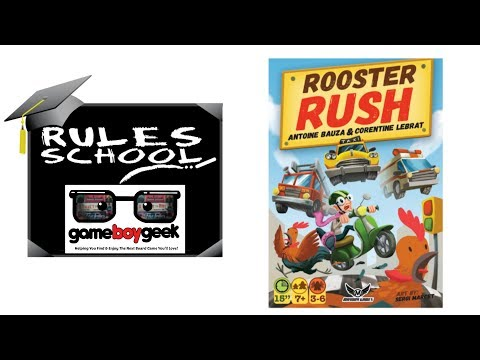 Learn How to Play Rooster Rush (Rules School) with the Game Boy Geek