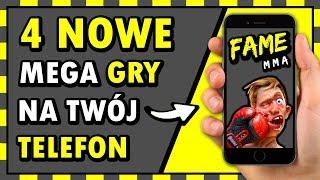 Symulator FAME MMA na TELEFON! ◉_◉ (4 NOWE GRY, które musisz mieć) 📱