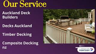 Provide Best and Affordable Service of Decks Auckland