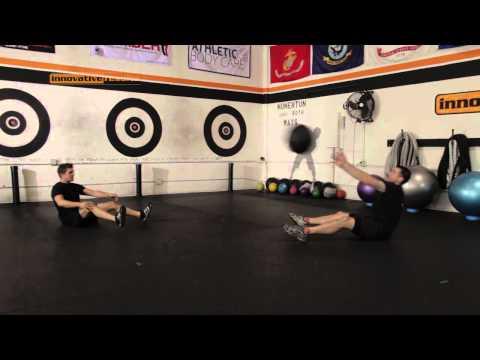 Medicine Ball - Partner Situp Throws