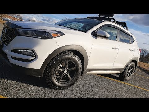 2017 Hyundai Tucson - BFGoodrich KO2 Tire Review - Compact SUV