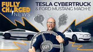 Tesla Cybertruck, Cobalt Myths, Ford Mustang Mach-E & the problem with SUV's | Fully Charged News