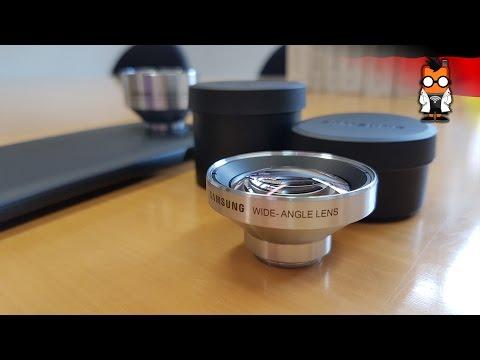 Samsung S7 Lens Cover Test [German - Deutsch]