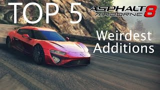 Asphalt 8: Top 5 Weirdest Additions to the Game
