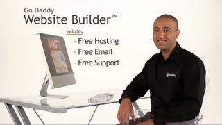 GoDaddy Website Builder video