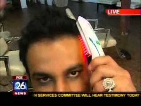 HairMax LaserComb on FOX News  with hair restoration surgeon Dr. Carlos Puig