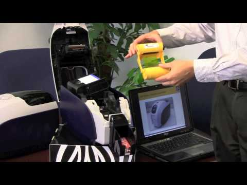 Zebra ZXP Series 3 Card Printer Overview