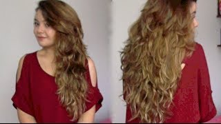 Corte de pelo a capas pelo largo
