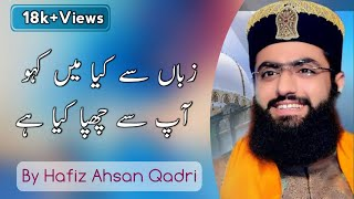 Zuban Se Kya Main Kahoon By Hafiz Tahir Qadri - YouTube