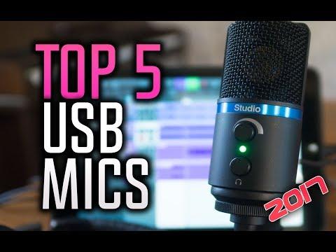 ▶️ Best USB Microphones in 2017