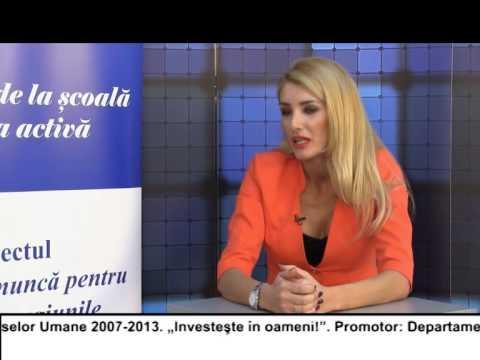 (VIDEO) Locuri de muncă pentru TINEri în București Ilfov și regiunea Nord Est – ANDREEA SEVERA (E22)