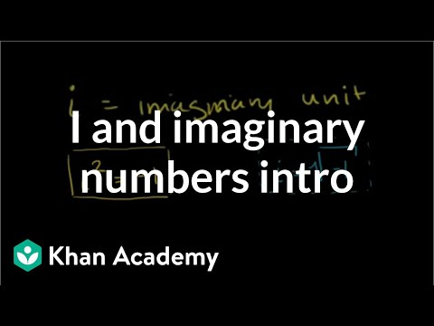 A thumbnail for: Imaginary and complex numbers