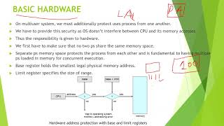 3.7 INTRODUCTION TO MEMORY MANAGEMENT IN OS #os #operatingsystem #vtu #exams