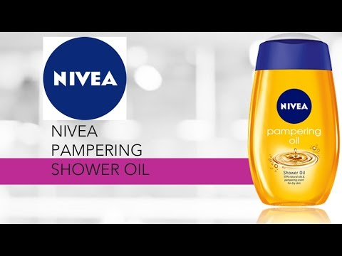 Feature Friday: Nivea Pampering Shower Oil Product Review