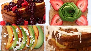 16 Ways To Up Your Breakfast Toast Game • Tasty