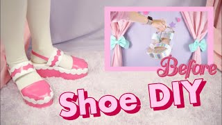 DIY Shoe Renovation 🌼🌸🌺 How To Change The Color Of Your Shoes