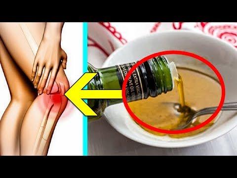 Залей обычную Соль маслом, Это вытянет всю Боль из колен и суставов