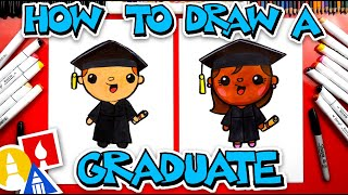 How To Draw A Graduate  - #stayhome And Draw #withme