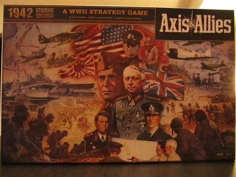 Axis & Allies 1942 Second Edition - game Set Up
