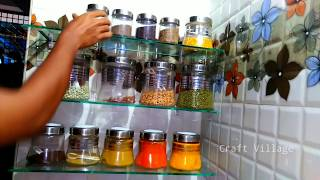 How To Make Kitchen Rack At Home | Kitchen Organize Rack Idea
