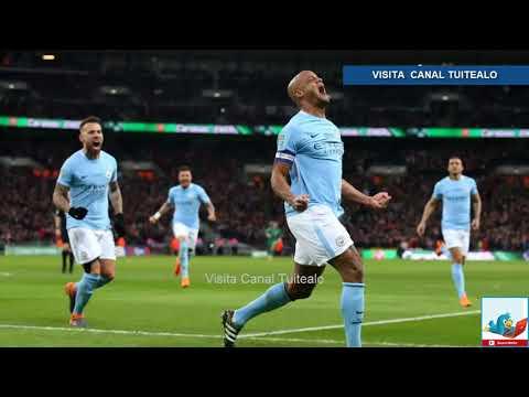 Pep Guardiola y Manchester City ganan la Copa de la Liga Inglesa tras vencer 3-0 al Arsenal Video