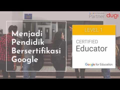 Mengenal Pendidik Bersertifikasi Google - Introduction to Google ...