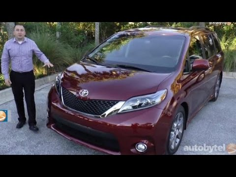2015 Toyota Sienna Minivan Walkaround Video
