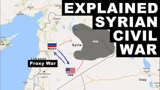 Syrian Civil War Explained - Who is fighting and Why | UPSC Civil Services