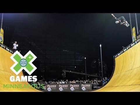 Moto Shibata wins Skateboard Vert silver | X Games Minneapolis 2018