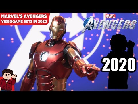 Are the 2020 Avengers Sets Based Off the Upcoming Marvel's Avengers Video Game?