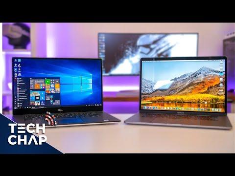 Macbook Pro 15 (2018) vs Dell XPS 15 (9570) - Best Laptop? | The Tech Chap