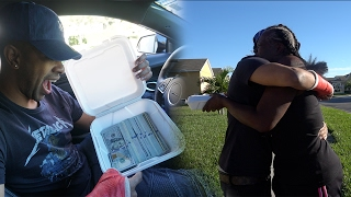 WE CHANGED HER LIFE!!! SURPRISING A WOMAN $8,000 IN CASH!! VLOG !!!