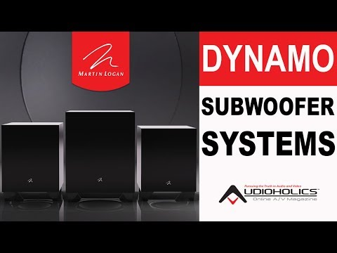 MartinLogan Dynamo Subwoofer Series Overview & Comparison