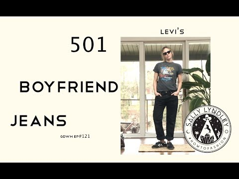 How To Style Levi's 501 Black Boyfriend Jeans