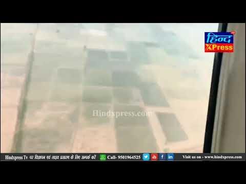 CM कैप्टन अमरिंदर सिंह ने पटियाला और संगरूर के बाढ़ प्रभावित इलाकों का हवाई निरीक्षण किया